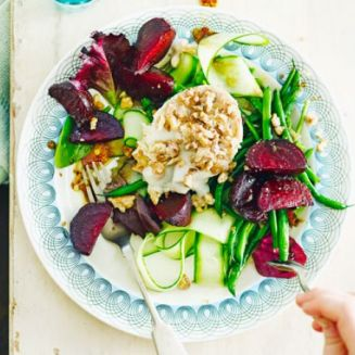 roasted-beetroot-goats-cheese-salad