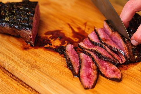 Vermont Maple Marinade for Cast-Iron Seared Venison Steak 10