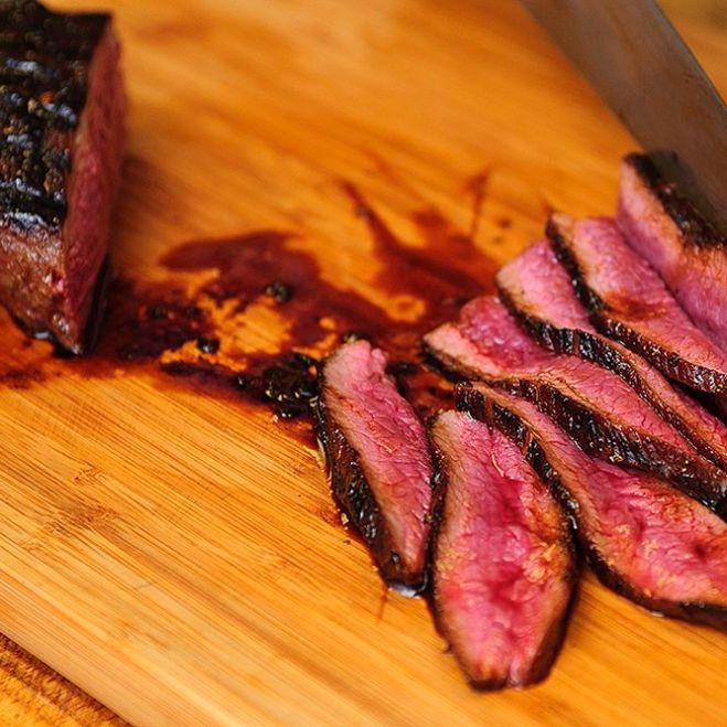 Vermont Maple Marinade for Cast-Iron Seared Venison Steak 10